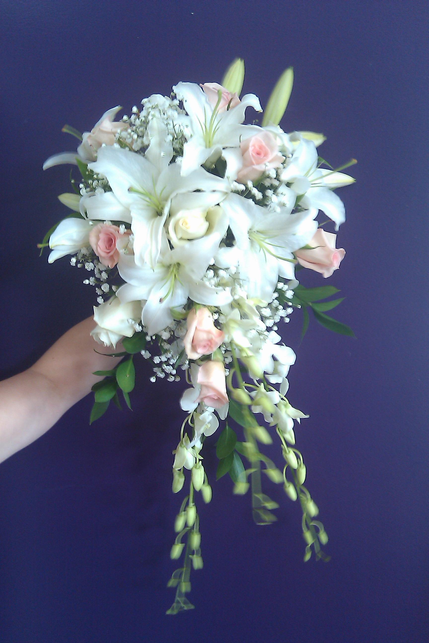 September 2011 north raleigh florists blog cascading bouquet mightylinksfo